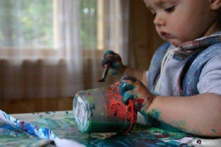 Несколько слов о рисовании с малышами