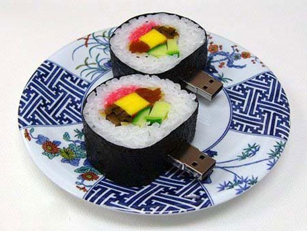 Любителям суши и компьютеров (8 фото)