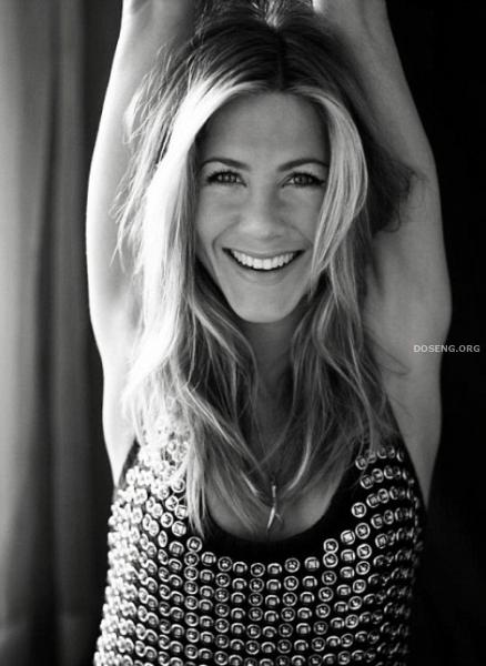 Дженнифер Энистон (Jennifer Aniston) в журнал Elle UK. Апрель 2009