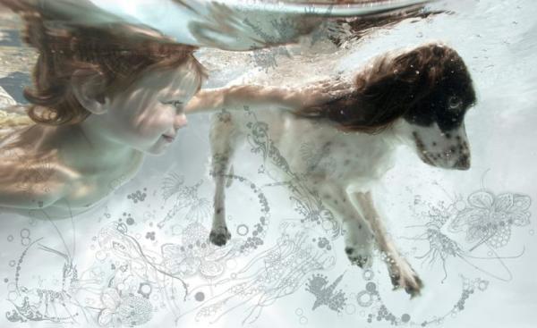 Детишки под водой (26 фото)
