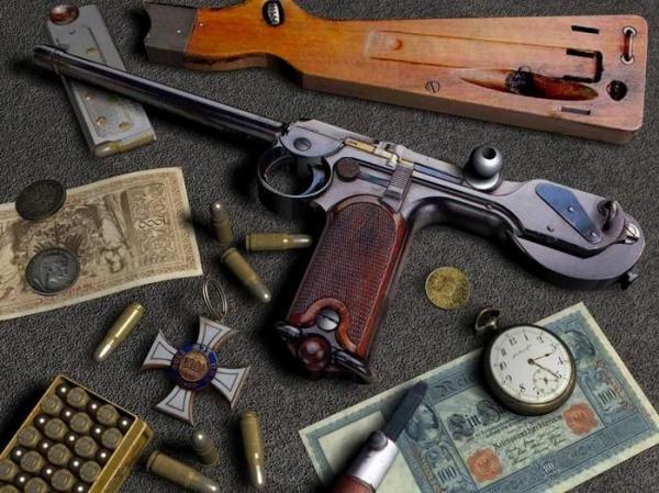 Модели оружия (17 фото)