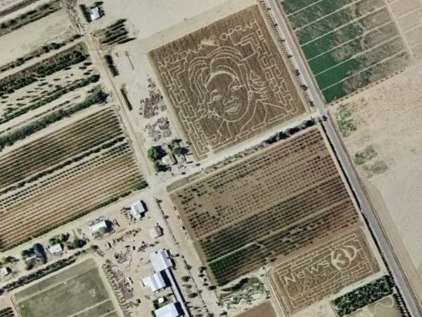 Интересные места из Google Maps/Earth (21 фото)