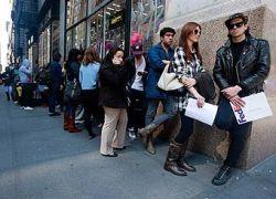 Число безработных в США превысило 13 миллионов