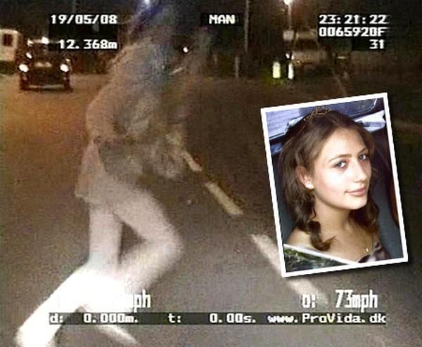 Полицейский сбил насмерть школьницу (8 фото)