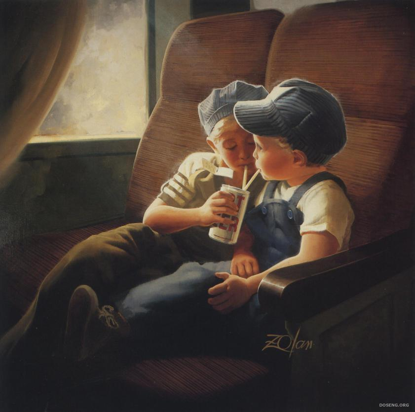 Красивые и милые картины детей 17 фото