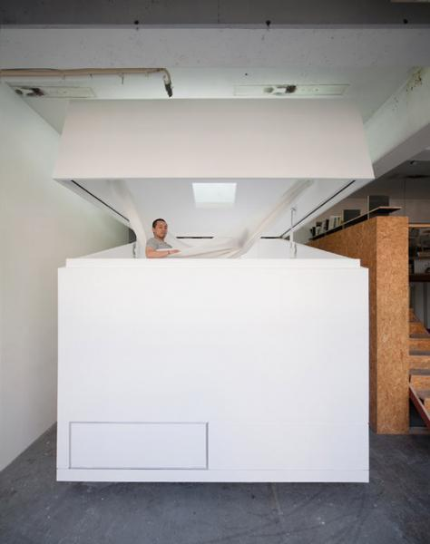 Японская концептуальная квартира (24 фотографии)
