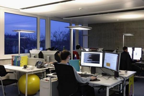 Офис Google в Цюрихе (49 фото)