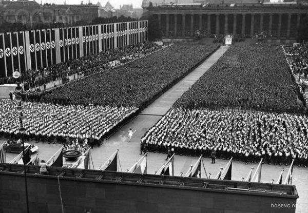 История нацистской Олимпиады. Берлин-36 (57 фото + текст)