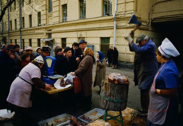 СССР, 1989-1993. Зарисовки (38 фото)