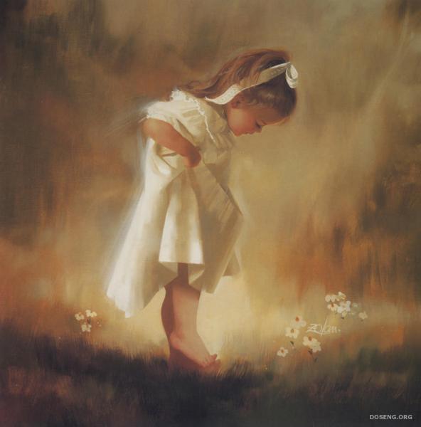 Красивые и милые картины детей (17 фото)
