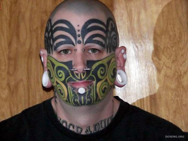 Татуированные (6 фото)