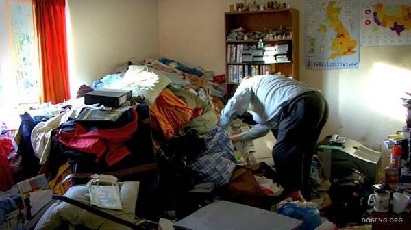 Во что превратилась квартира (5 фото)