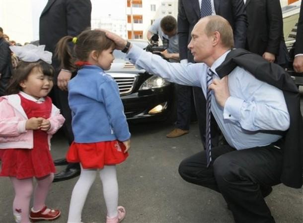 Дети путина фото.