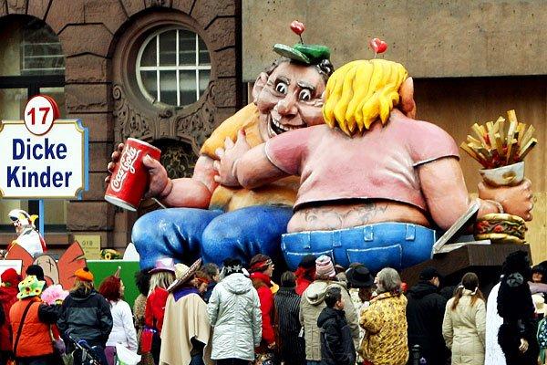Карнавал Шутников, Германия