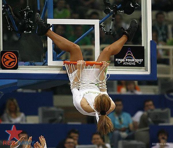 Наши девушки из группы поддержки баскетбольной команды ЦСКА (76 фото)