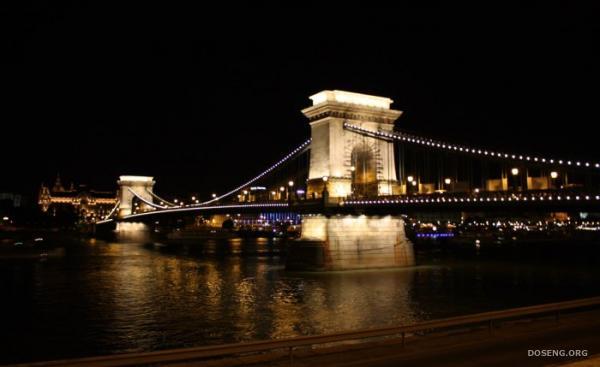 Цепной мост или мост Сечени в Будапеште