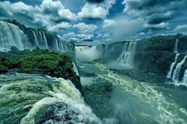 Глотка Дьявола - самый крупный водопад реки Игуасу (8 фото)
