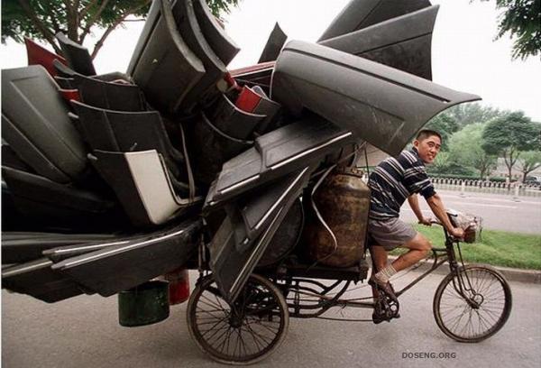 Необычные методы транспортировки 38