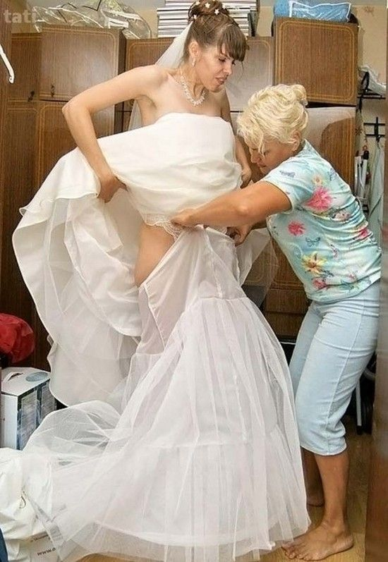 Сексуальные казусы невест на свадьбе помочь