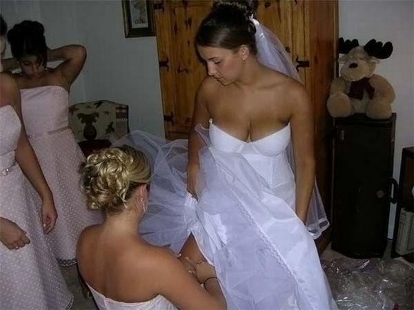Забавные ситуации на свадьбах (80 фото)