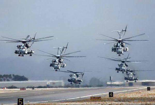 Вертолеты американской армии (12 фото)