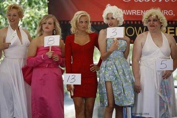 Конкурс двойников Мэрилин Монро в США (17 фото)