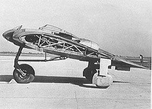 Немецкий самолет невидимка