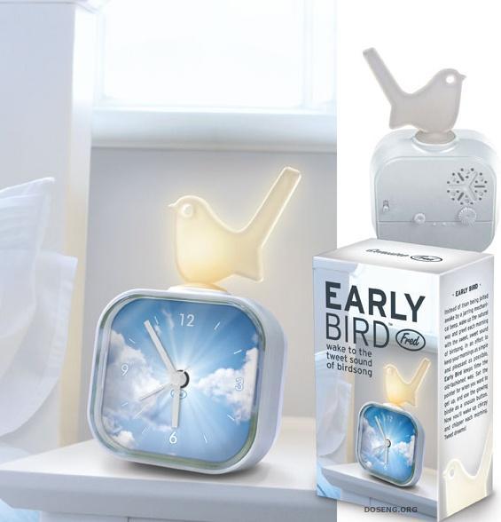 Приятный будильник Early Bird (4 фото)