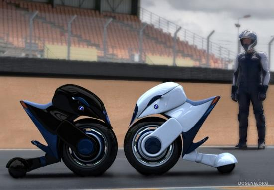 Молодежный мотоцикл для большого города BMW Halbo