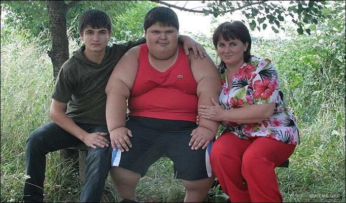 Пухлый парень и девушка фото 539-58