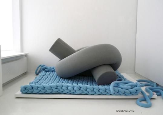 Самые необычные и даже нелепые дизайнерские ковры (13 фото)