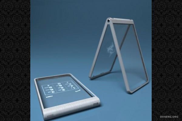Glassy glassy - стеклянный телефон