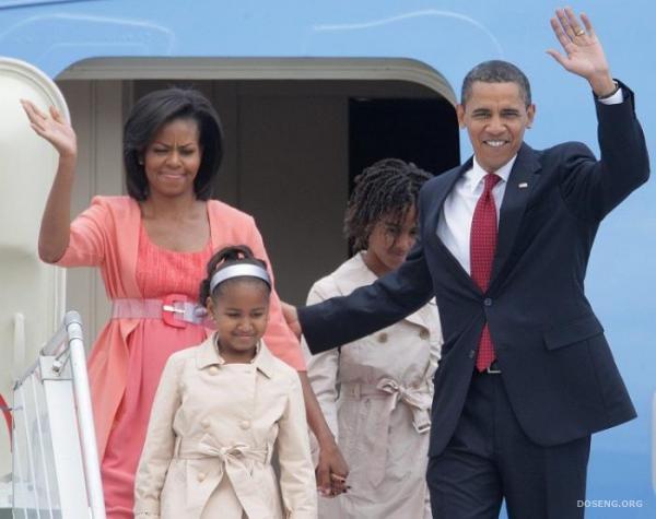 Барак Обама в Москве (12 фото)