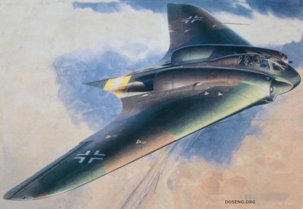 Немецкий самолет неведимка (14 фото)