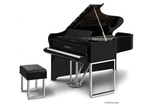 Дизайнеры Audi создали рояль за 100,000 евро (13 фото)