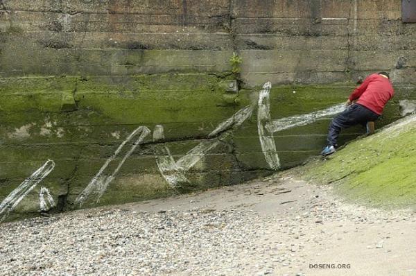 Прикольные граффити (17 фото)