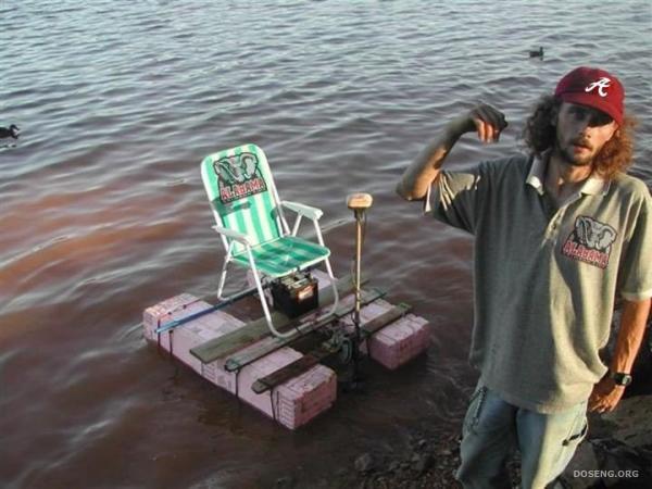 изобритение на рыбалке