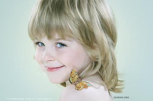Детская студийная фотография (18 фото)