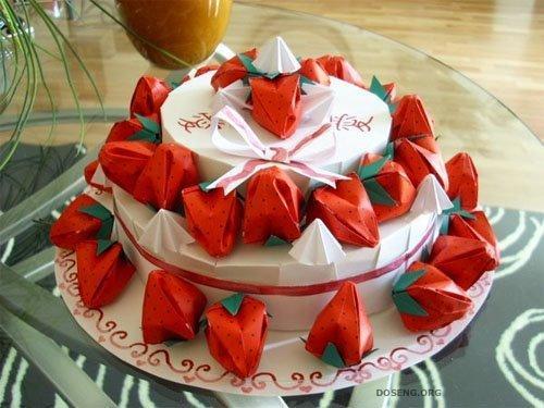 Необычные работы оригами (23 фото)