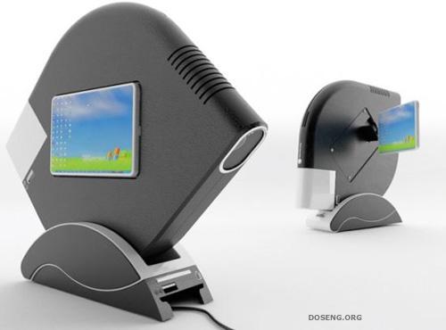 Icon Mini PC: концепт неттопа со встроенным проектором (4 фото)