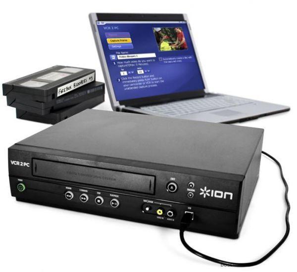 Цифровой конвертер для видеокассет USB VHS Converter