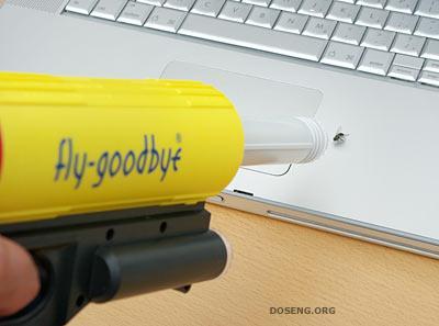 Пневматическая мухоловка Fly-Goodbye Bug Vacuum Gun