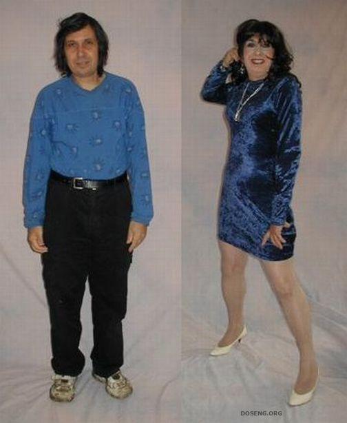 передивание мужжика в женщину фото женщины