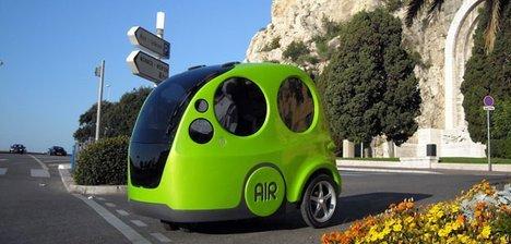 AIRPod - автомобиль, работающий на воздухе