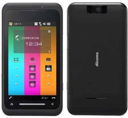 Тонкий, но мощный телефон Toshiba T-01A