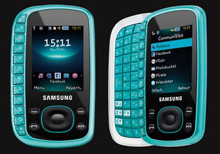Samsung B3310 – телефон для девушек
