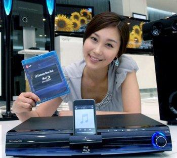 Комбокинотеатор от LG с поддержкой iPod