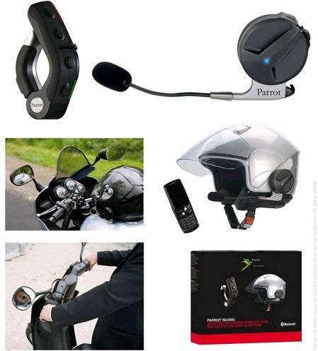 Bluetooth-шлем для мотоциклистов Parrot SK4000