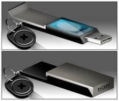 USB-флешка с дисплеем