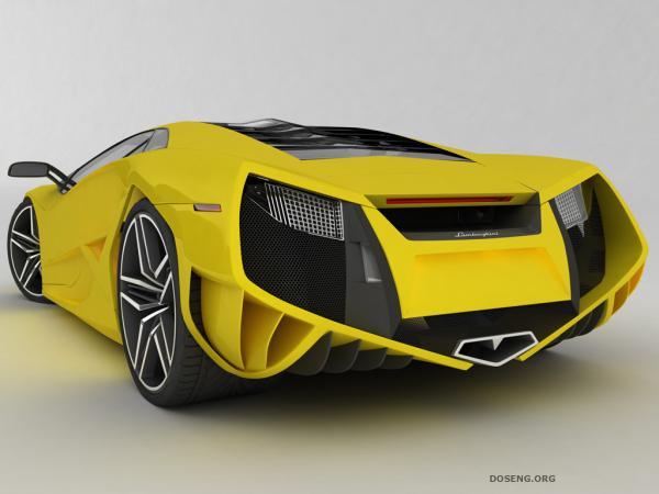 Новый дизайн эксклюзивного автомобиля Lamborghini Reventon (5 HQ фото)